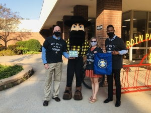 WCS receive a visit from Yosef!