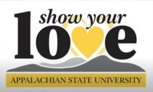 Show your Love! Appalachian State University